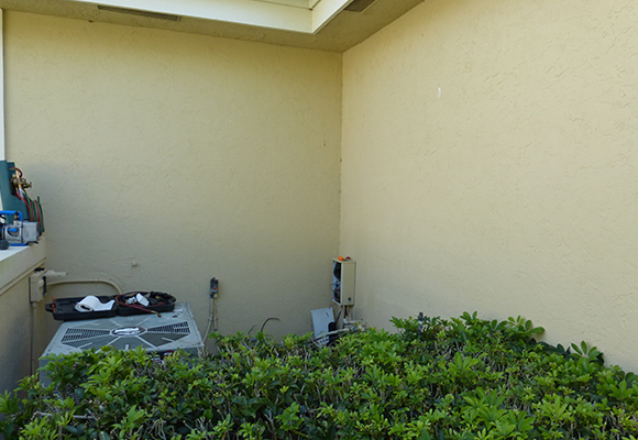 Home AC Unit getting AC Repair in Estero, FL